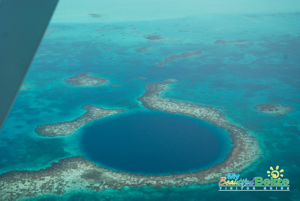 Blue Hole Aerial Tour-7