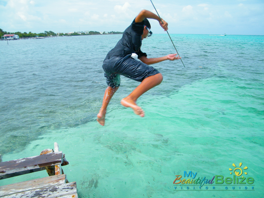 Fishing like a san pedrano my beautiful belize for Fishing san pedro belize
