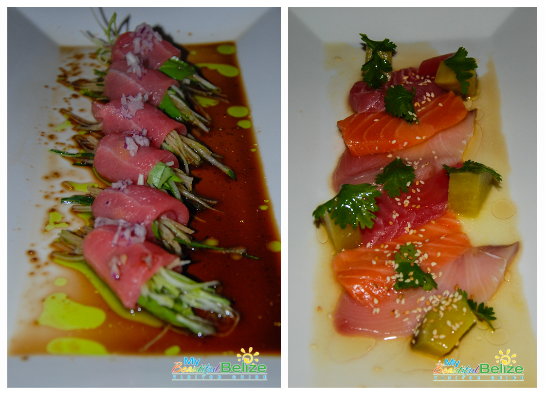 Hey Blue Water Grill, 'Sushi-Me' Please!! - My Beautiful Belize