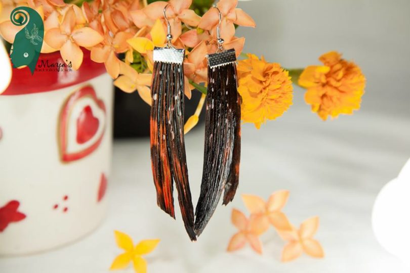 Lionfish Spine Earrings 6