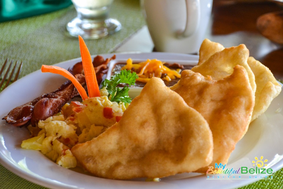 Breakfast FryJack Meat Pies Belize Food-3