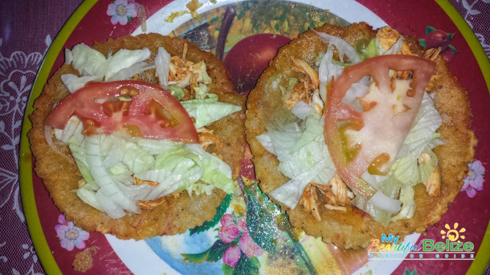 Lunch Salbutes Mestizo Belize Food-12