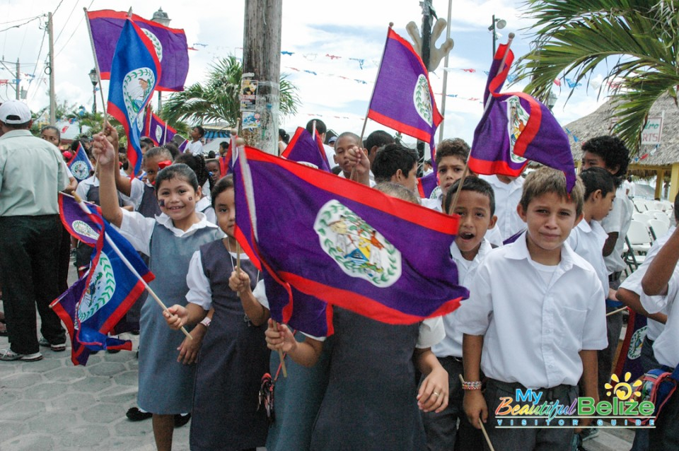 33rd September Celebrations Belize Parade-9
