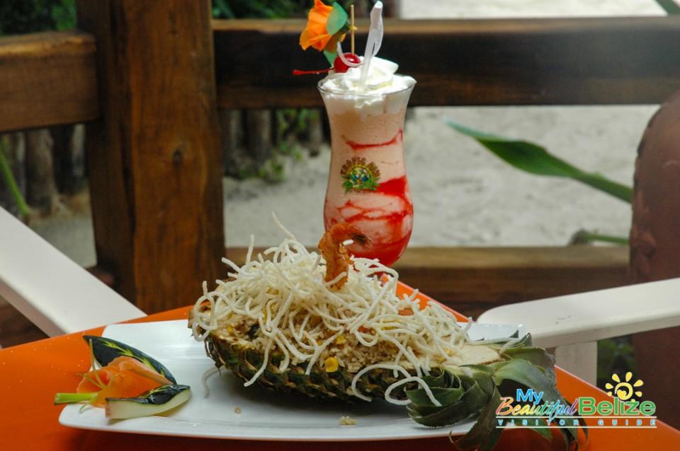 Pineapples Restaurant Ramons Village Food-16