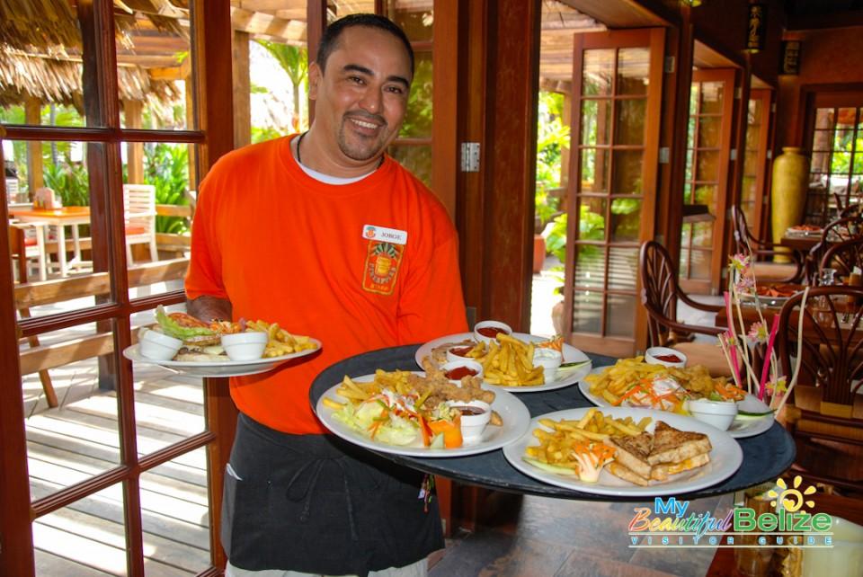 Pineapples Restaurant Ramons Village Food-9