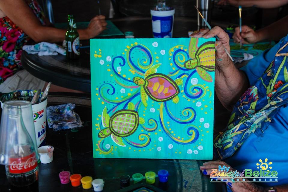 Splash n Paint Party Crazy Canuck's-7