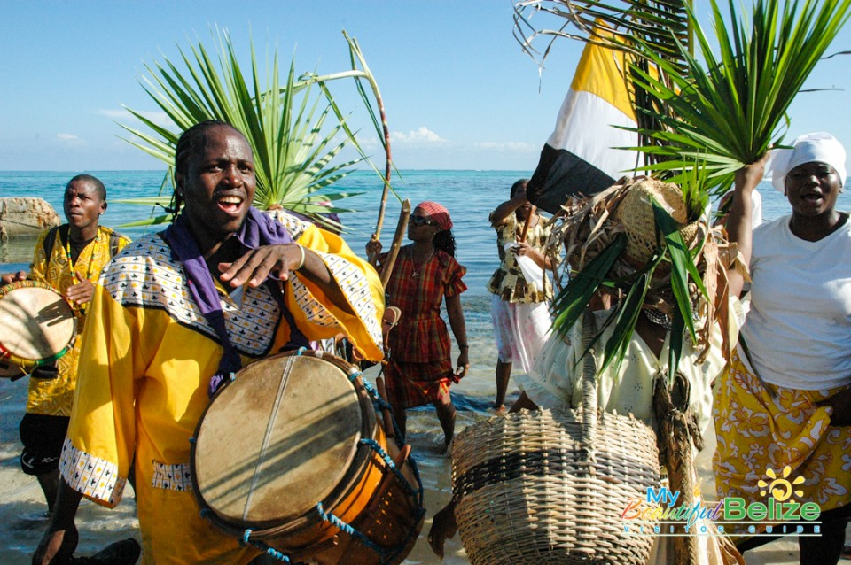 Garifuna Settlement Day Re-enactment-1