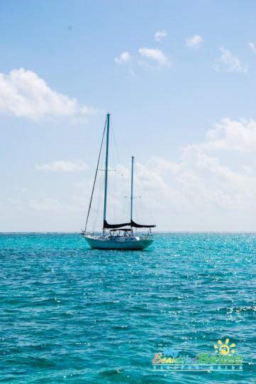 Sailing Ambergris Caye Catamaran Belize Caribbean-2