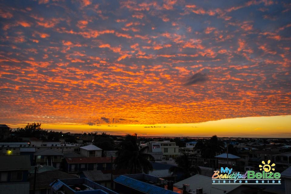Sunsets on Ambergris Caye-5