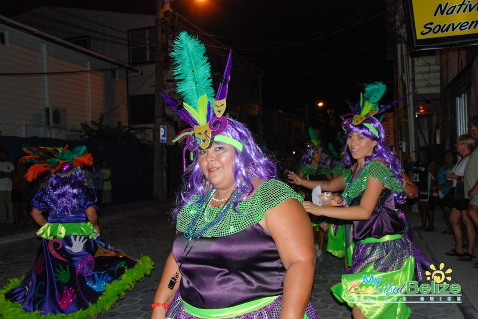 Carnaval 2015 San Pedro Ambergris Caye-47