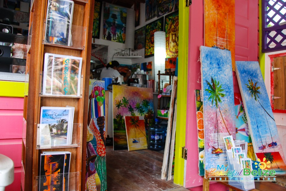 Caribbean Colors Art Cafe Caye Caulker-3