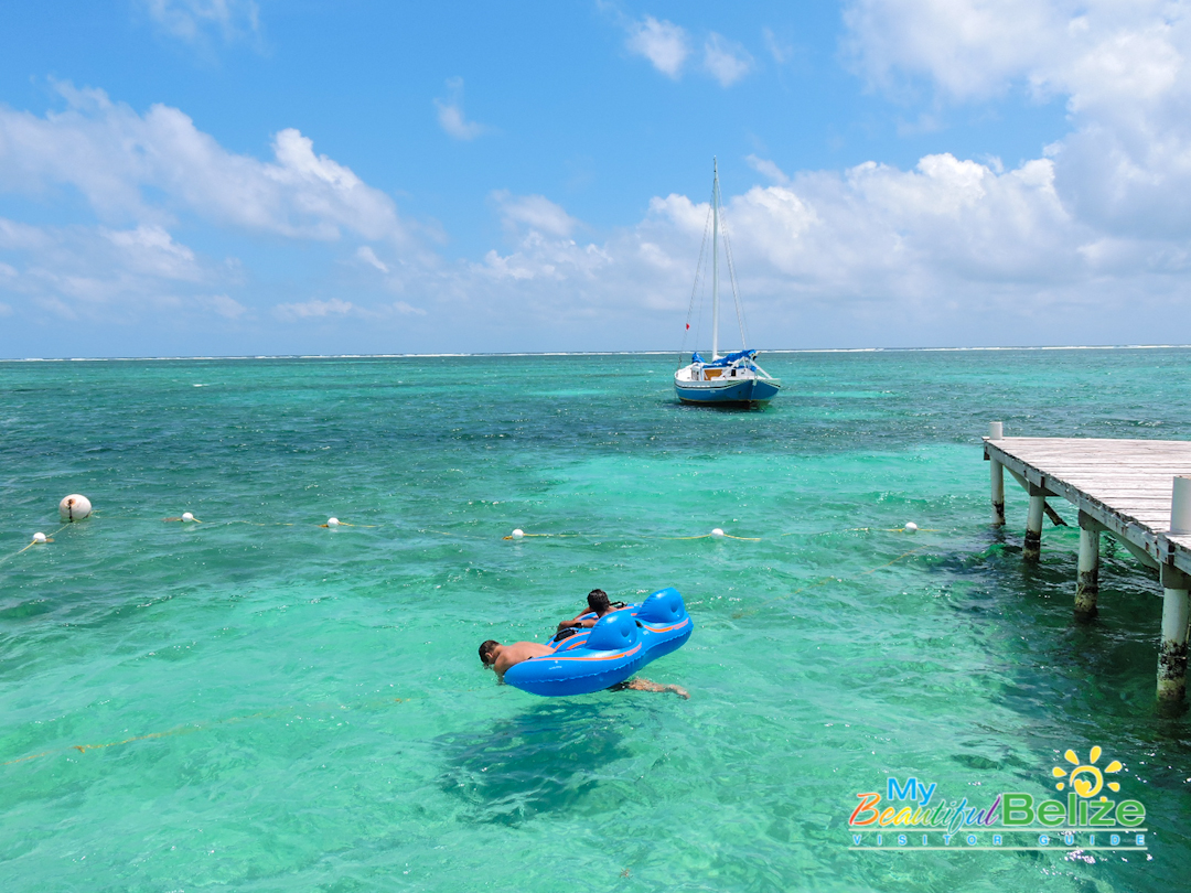 Top 5 Swimming Spots in Ambergris Caye - My Beautiful Belize