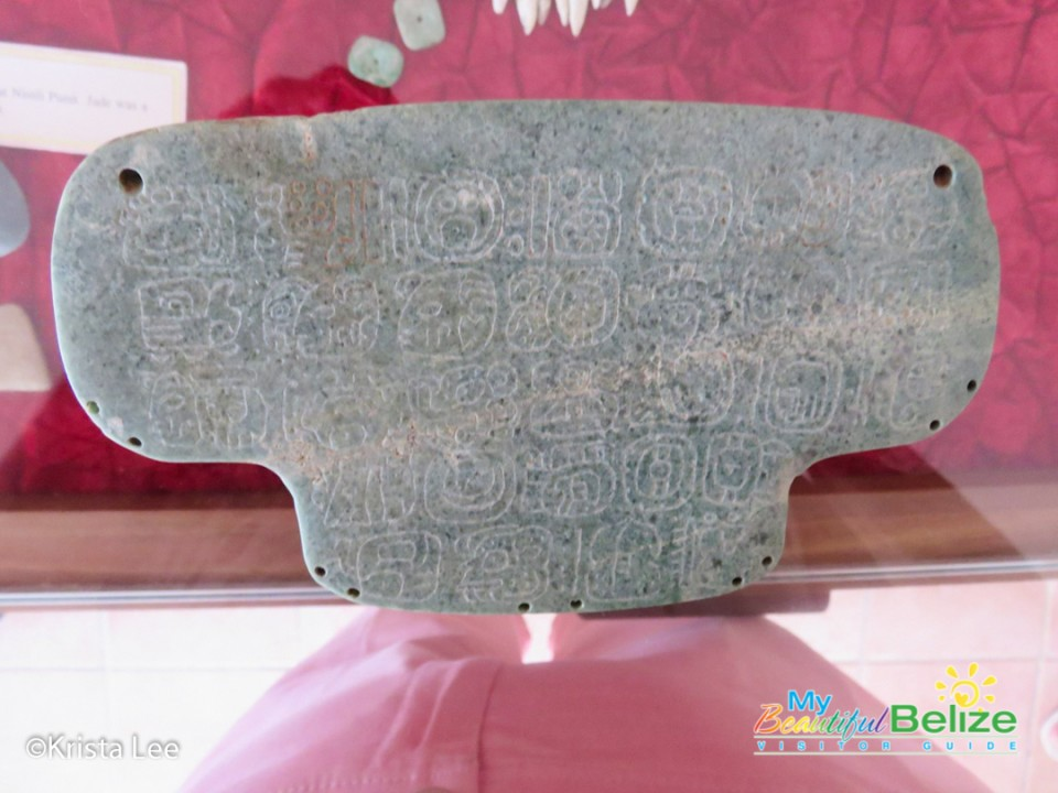 Nim Li Punit Maya Jade Pendant Archaeology Toledo Belize-16