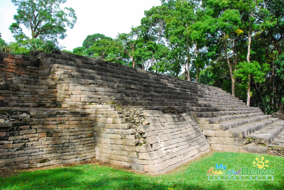 Another archaeological site in Belize: Lubaantun