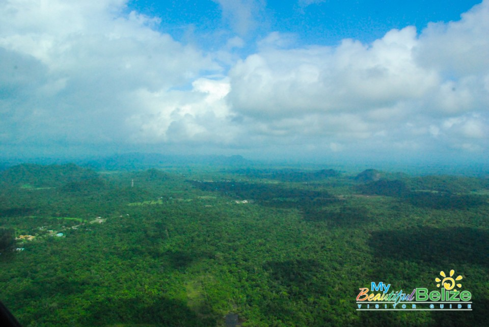 Tropic Air Flight Mountains Cayes Air View-11