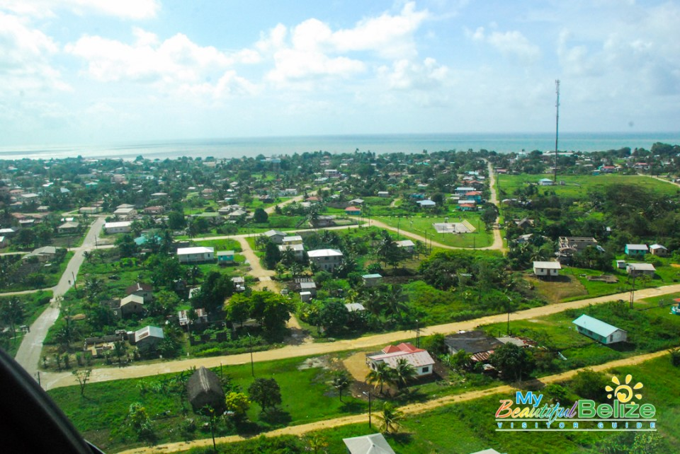 Tropic Air Flight Mountains Cayes Air View-13