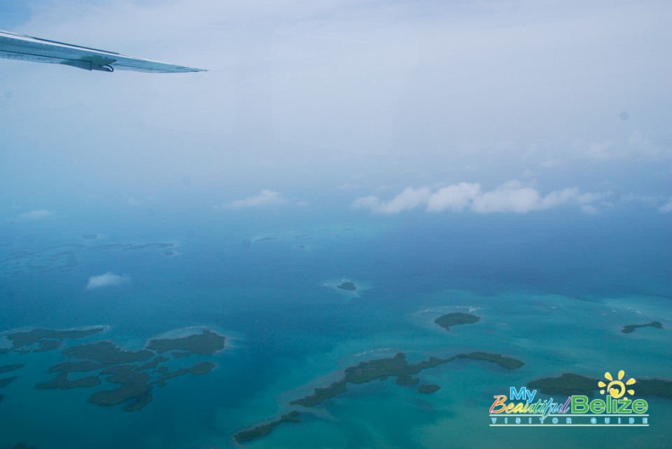 Tropic Air Flight Mountains Cayes Air View-16