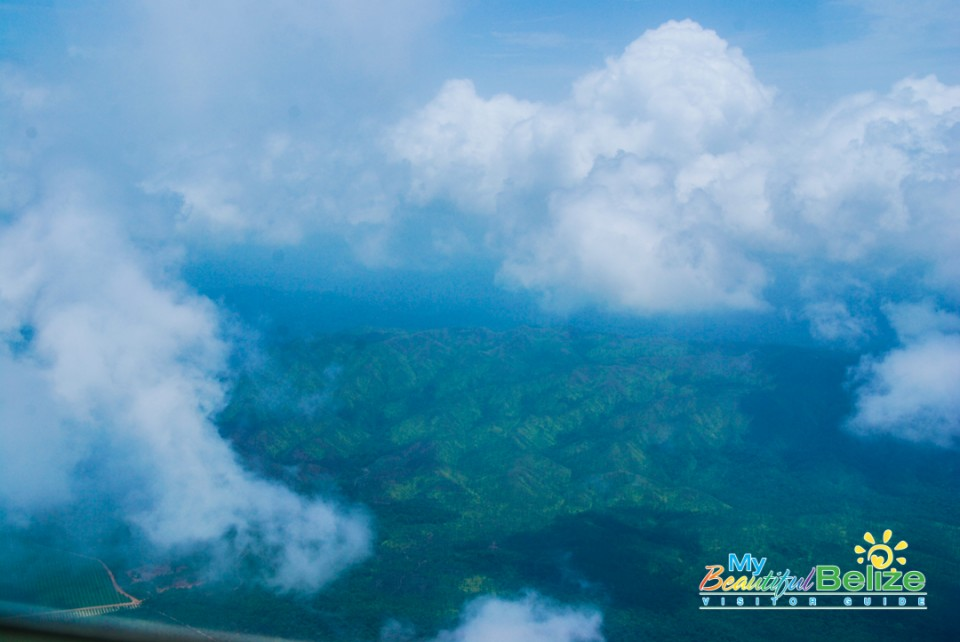 Tropic Air Flight Mountains Cayes Air View-19