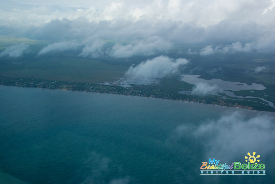 Tropic Air Flight Mountains Cayes Air View-3