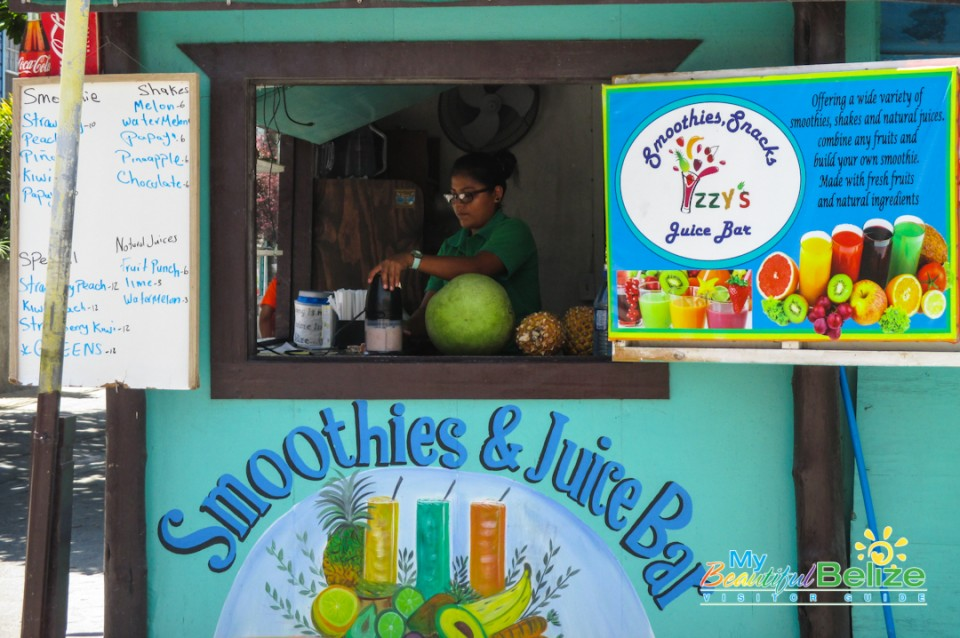Izzy's Smoothies Green Hulk Juice-4