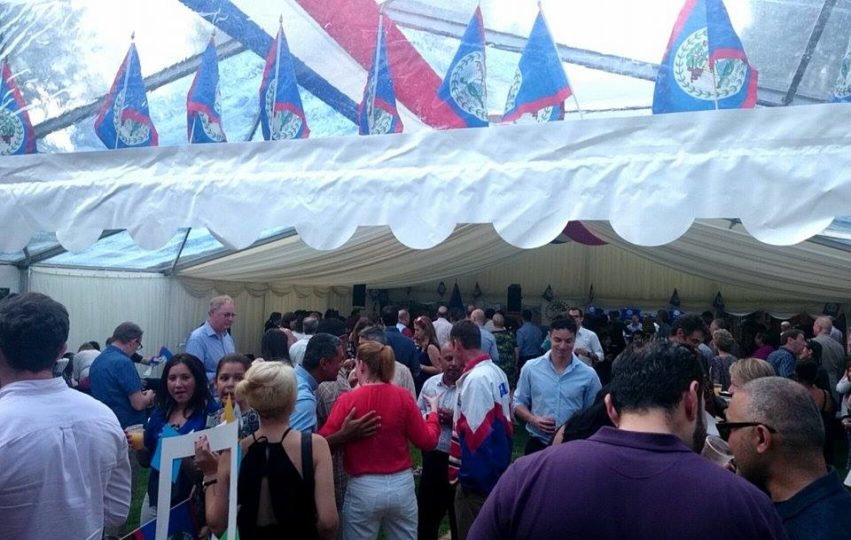 Belize Day Evet UK 1