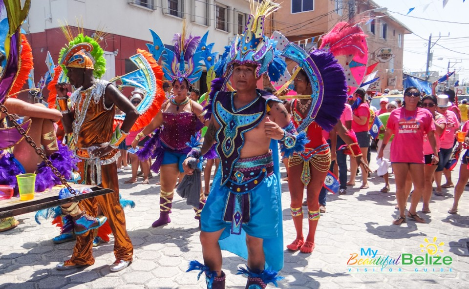Independence Jump Up Parade San Pedro Town-4