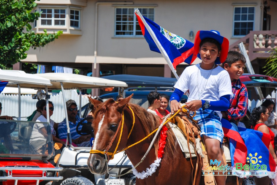 Independence Jump Up Parade San Pedro Town-71