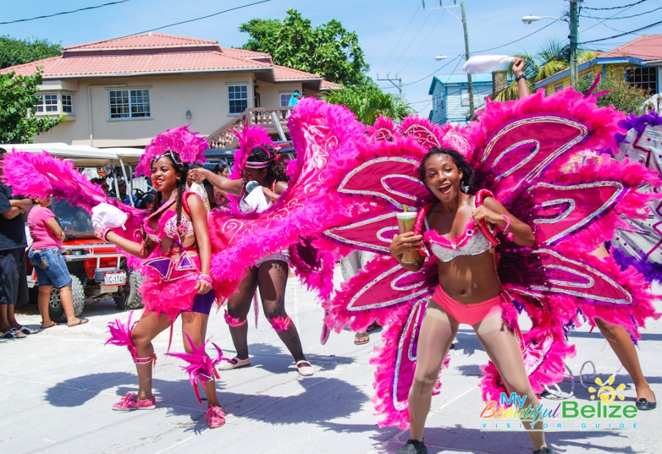 Independence Jump Up Parade San Pedro Town-80