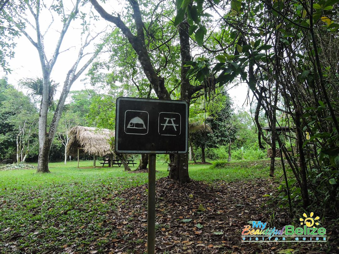 Cockscomb Jaguar Preserve picnic camping