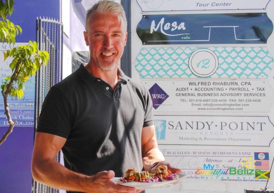 Mesa Cafe San Pedro Owner Sheldon Florence