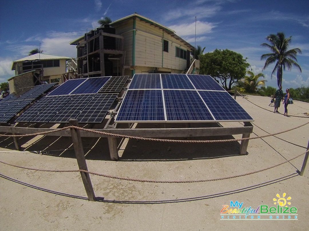 Glovers Reef Atoll Solar Panels