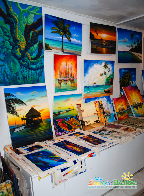 Belizean Arts Shopping Gifts Paintings Handmade Items-4