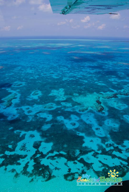 Fly Blue Hole Aerial Tour Tropic Air-12