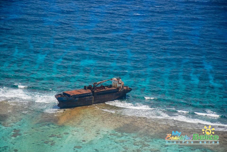 Fly Blue Hole Aerial Tour Tropic Air-14