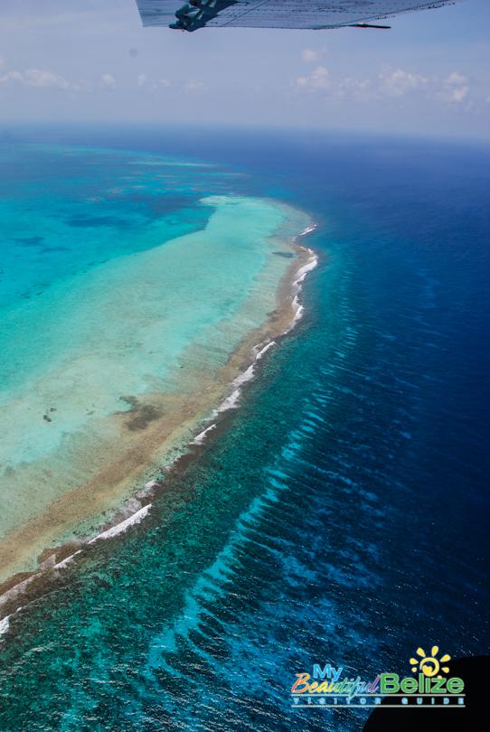 Fly Blue Hole Aerial Tour Tropic Air-17