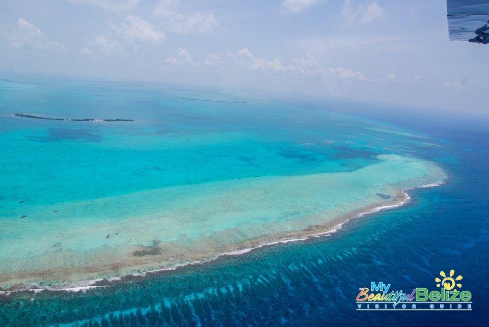 Fly Blue Hole Aerial Tour Tropic Air-18