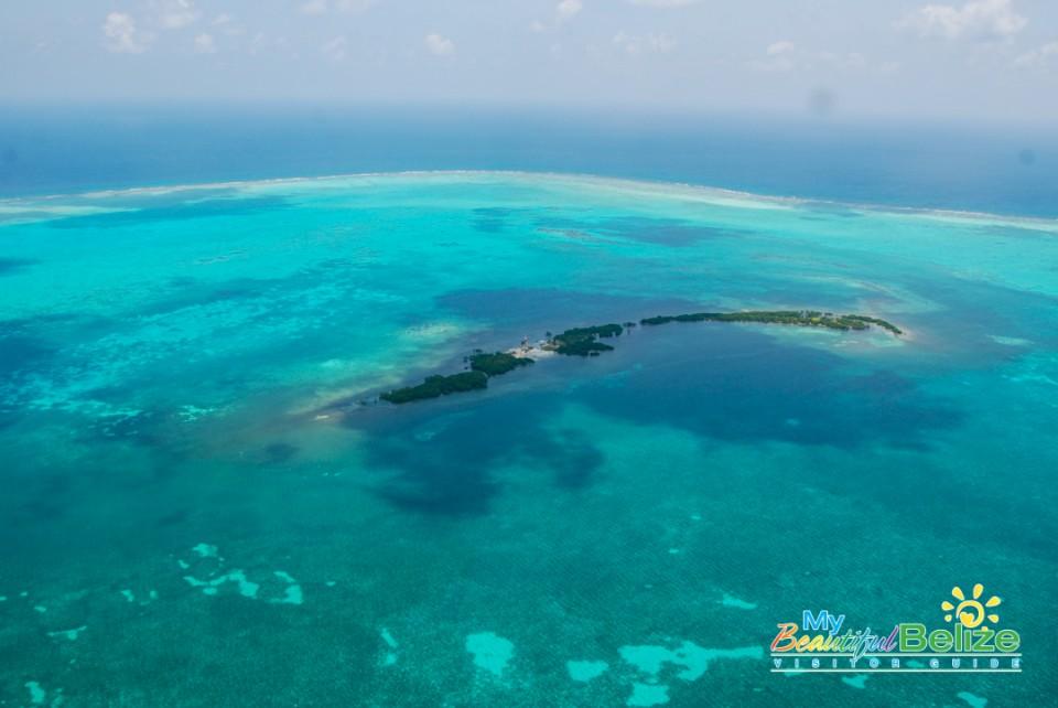 Fly Blue Hole Aerial Tour Tropic Air-25