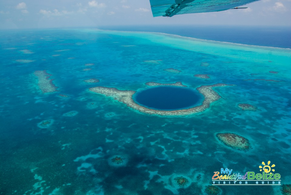 Fly Blue Hole Aerial Tour Tropic Air-6