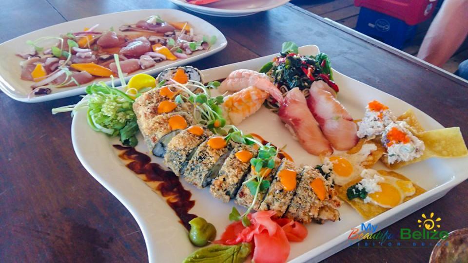 Sushi and Paleta at Rojo-2