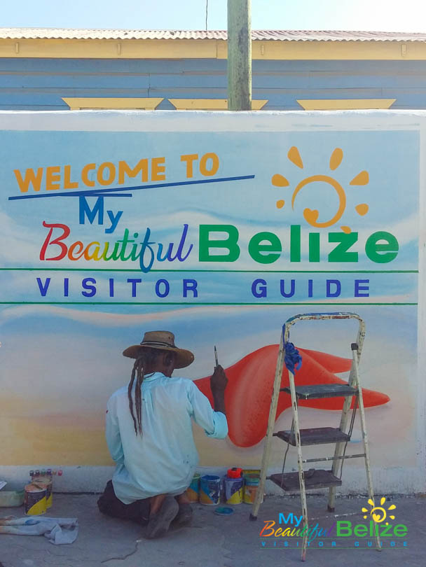 The Lost Art of Sign Painting - My Beautiful Belize