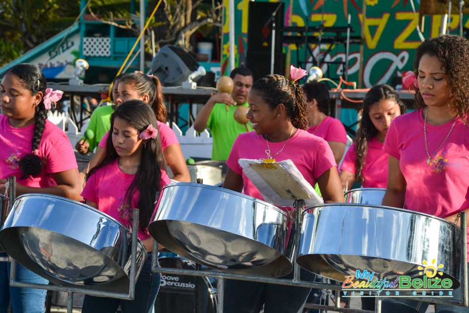 The Sound Of The Caribbean Steel Pans My Beautiful Belize