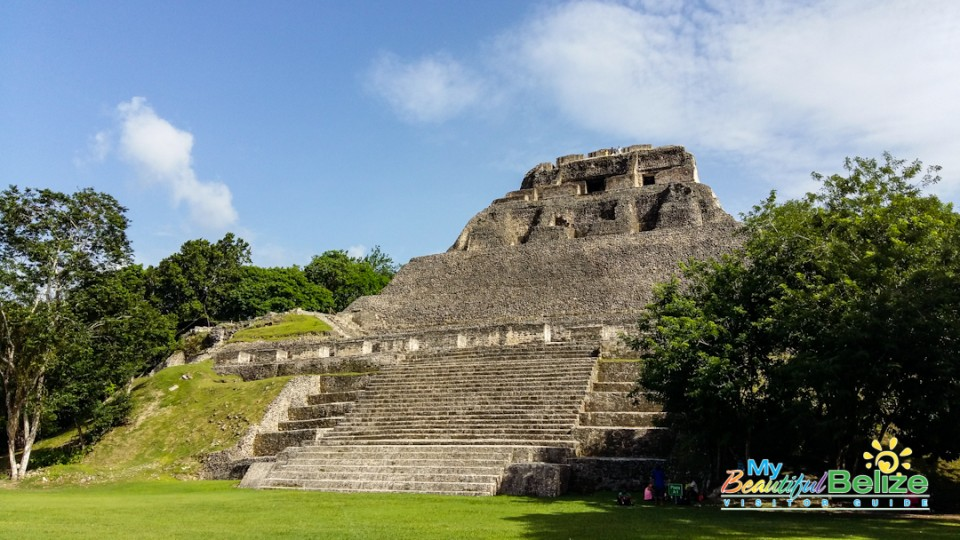 Xunantunich is home to the tallest structure in Belize