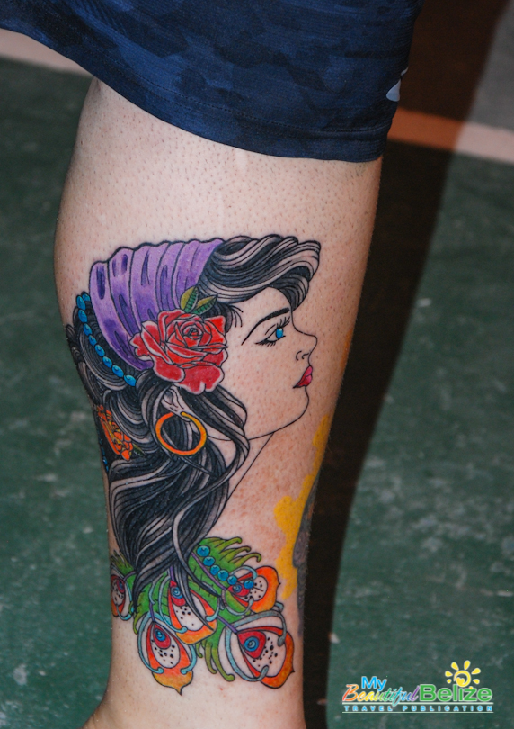 Permanently yours from the belize tattoo expo my for Tattoo expo san diego