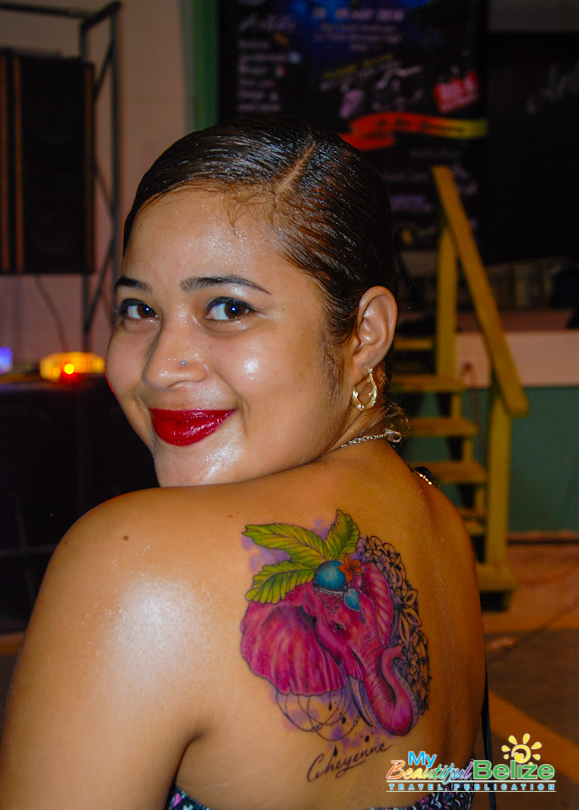permanently yours from the belize tattoo expo my
